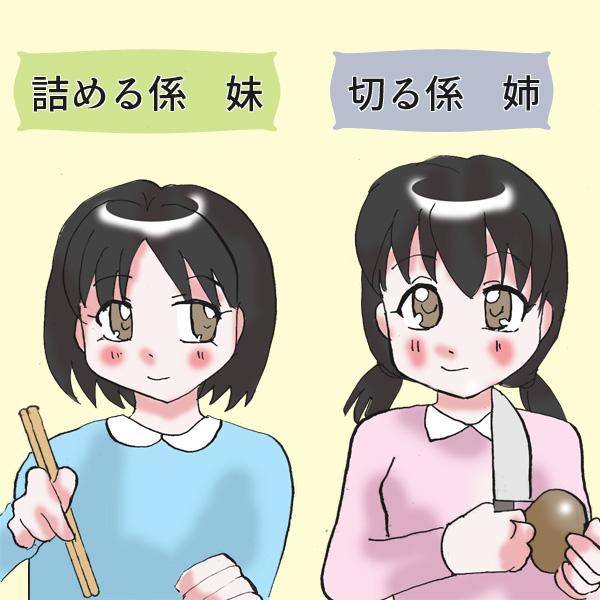 【おせち料理のかまぼこ】兎、松、菊の飾り切りに挑戦、不格好ながらも成功